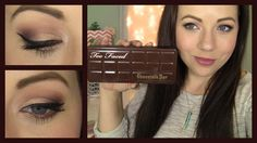 Too Faced Chocolate Bar Palette! Review & Tutorial