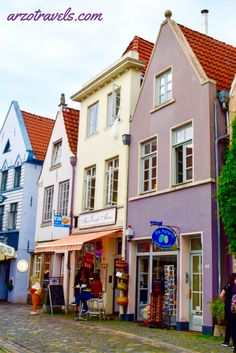 What to do and see in Bremen, Germany. Schnoor, Old Town