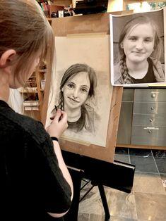 Teen self portraits