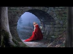 Photoshop Manipulation Tutorial | Fantasy Photo Effects | Red Dress - YouTube