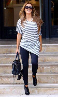 Kim Kardashian Fashion and Style - Kim Kardashian Dress, Clothes, Hairstyle - Page 137