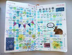 Jenny's Sketchbook: Sketchbook Journal - March