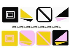 "Check out new work on my @Behance portfolio: ""Oana's logos"" http://be.net/gallery/37258225/Oanas-logos"