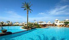 Piscinas Vincci Selección La Plantación del Sur 5* Lujo, Costa Adeje, Tenerife #Canarias @Vincci Hoteles