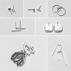 Home Industry is a South African company specialising in personalised sterling Silver Jewellery. Shop online for beautiful, unique, handmade jewellery. Jacket Earrings, Sterling Silver Jewelry, Cufflinks, Handmade Jewelry, Industrial, Accessories, Beautiful, Handmade Jewellery, Jewellery Making