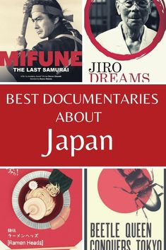 These are 10 of the best documentaries about Japan you can see. #Japan #Japanesemovies Travel Themes, Travel Ideas, Beautiful Places In Japan, The Last Samurai, Japanese Animated Movies, Travel Itinerary Template, Japan Destinations, Japan Travel Guide, Backpacking Asia