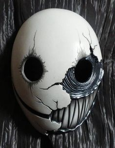 Smile version 2: Resin cast mask