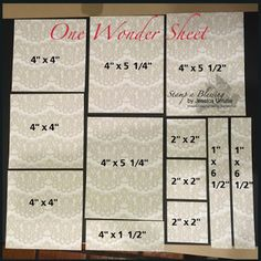 One Wonder Sheet Template 1