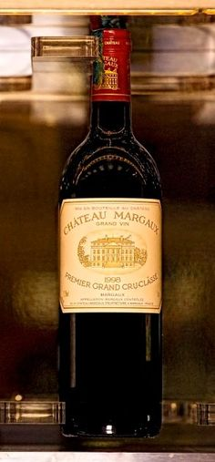 Chateau Margaux from the Wine Library Just Wine, Wine And Beer, Mets Vins, Bordeaux Wine, Vintage Wine, Vintage Cups, French Wine, In Vino Veritas, Wine Cheese