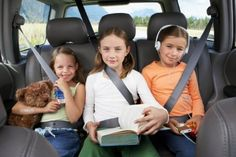 6 Tips on how to survive a road trip with kids, but what I really want to see is how to ENJOY one.  (Tired of the whole kids = misery myth)