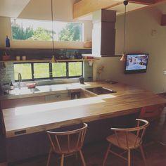 Diy Interior, Room Interior, Home Interior Design, Narrow House, Loft, Home Kitchens, House Plans, Furniture Design, Room Decor