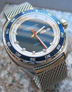 Hamilton Watch Pan Europ with Vollmer mesh