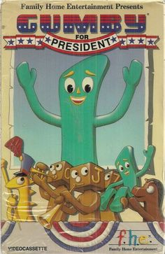 Dal McKennon as Gumby in GUMBY FOR PRESIDENT