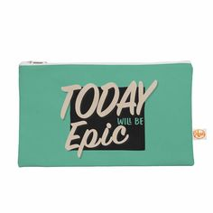 """Juan Paolo """"Epic Day"""" Vintage Teal Everything Bag"""