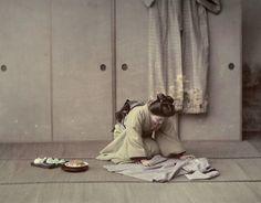 1800年代後半、芸者の黄金時代と呼ばれたときのとても貴重なカラー写真(12pic) - 195casual