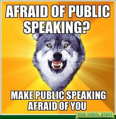 Get over your fear of #publicspeaking with 3 steps! #overcomingfearofpublicspeaking