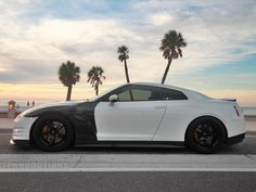 Nissan 'Panda' GT-R: Black And White Godzilla