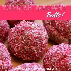 Turkish Delight is my hubbys favourite sweet so every year at Christmas I whip a batch of these up. No joke they don't even last a day ha! < Lucky it is only once a year! Ingredients 3 Turkish delights 1 packet choc ripple biscuits 1 tin choc condensed milk 4 drops red food dye Coconut to roll in Method Place biscuits and turkish delights into ...