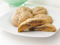 http://sallysbakingaddiction.com/2012/03/22/peanut-butter-rolo-cookies/