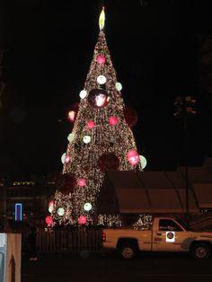 Árbol navideño en el #Zocalo #Mexico DF. #AgenciaTAV