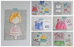 Pano pra Mangas- paper dolls