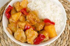 Poulet à l'ananas cookeo. Voici une délicieuse recette de Poulet à l'ananas, facile et rapide a réaliser avec votre cookeo.
