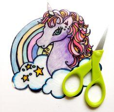 Shrinky Dink Unicorn