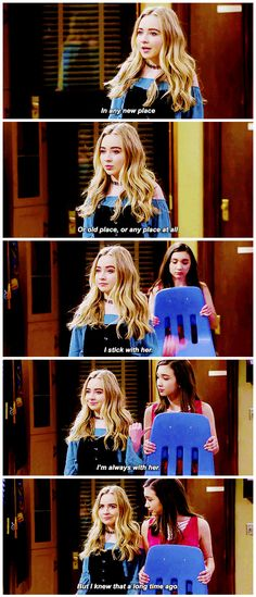 "#GirlMeetsWorld 3x02 ""Girl Meets High School: Part Two"" - Maya"