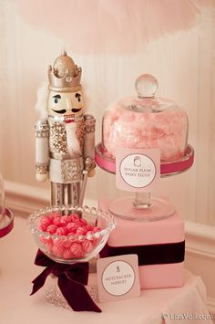 Kate Landers Events, LLC: A Nutcracker Suite Ballet Party {Signature Party} Nutcracker Sweet, Nutcracker Christmas, Noel Christmas, Pink Christmas, Xmas, Nutcracker Decor, Christmas Blessings, Sugar Plum Fairy, Ballerina Birthday