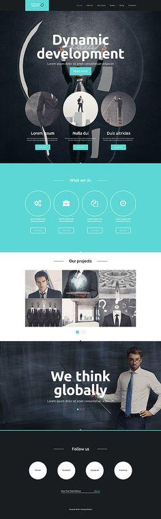 Corporate WP Theme wordpress website template
