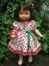 STRAWBERRY TIME OUTFIT- for your Fisher Price My Friend Mandy/Jenny/Becky doll