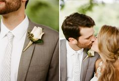 Nathan Westerfield Photography http://www.nathanwesterfield.com Southern Farm Wedding Pink Boutonniere