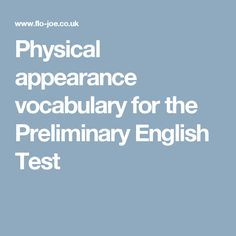 Classroom vocabulary for students preparing for PET, the preliminary English Test. English Test, Vocabulary, Physics, Language, Classroom, Student, Education, Hetalia, Esl