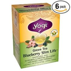 Yogi Green Tea Blueberry Slim Life @Sydney Shykowski @Annette Spiteri @Riley Ellis