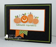 by Rita Wright, Rita's Creations: Stampin' Up! Halloween Happiness