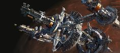 """""""Space Station Earth"""" by #AllenWei.  #sciencefiction #scifi #spacestation"""