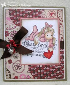 Loves Rubberstamps Design Team Member - Shanna Shands - Challenge 34 - Use Dies or Punches