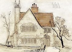The House That Jack Built, by Arthur Rackham. England, 1913