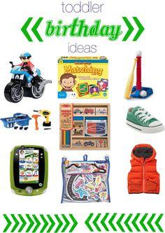 toddler birthday present ideas