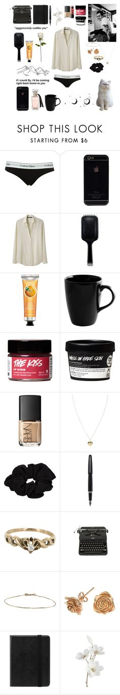 """""""i just want to cuddle you"""" by lu-fonsecaa ❤ liked on Polyvore featuring Calvin Klein, Les Prairies de Paris, GHD, The Body Shop, 10 Strawberry Street, Maybelline, NARS Cosmetics, ASOS, River Island and Fountain"""