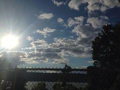 Sky looks amazing rn