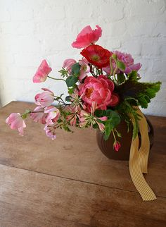 Flower shop around the corner.