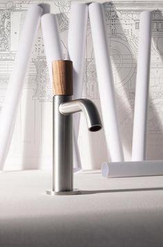 #bañosmodernos #madera #inox #lavabos #llavesdelavabo Encuéntrala en @grupotenue, te esperamos !