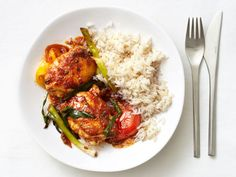 Baked Sweet-and-Sour Chicken Recipe : Food Network Kitchens : Recipes : Food Network