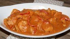 En enkel og god gryterett der alt tilberedes i en gryte. Så lettvint og greit å kutte, skjære og dele alt opp i biter, putte det i en gryte, så lages det så å si av seg selv. Mange gode smaker og … Thai Red Curry, Stew, Nom Nom, Food And Drink, Baking, Dinner, Ethnic Recipes, Desserts, Pots