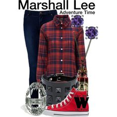 Inspired by Adventure Time character Marshall Lee voiced by Donald Glover.