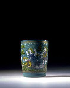 glass beaker, Venice late 15th century