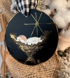 Nativity Ornament Christmas Religious Gift Etsy Happy New Year Nativity Ornaments, Painted Christmas Ornaments, Baby Ornaments, Nativity Crafts, Hand Painted Ornaments, Christmas Nativity, Christmas Wood, Christmas Projects, Holiday Crafts