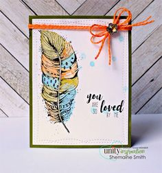 Feather Soft Love by Unity Stamp Co