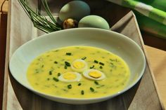 Czech Recipes, Ethnic Recipes, Cheeseburger Chowder, Thai Red Curry, Ramen, Soup Recipes, Grilling, Food And Drink, Restaurant
